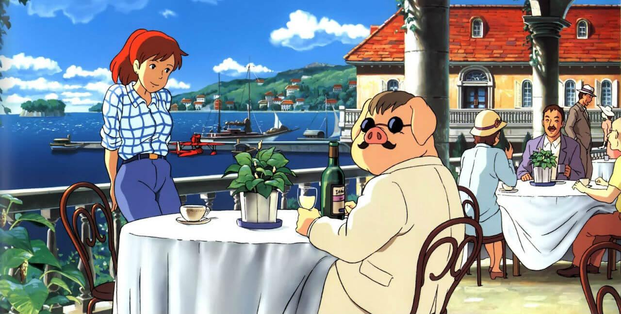 Porco.Rosso Studio Ghibli Best Movies Rank