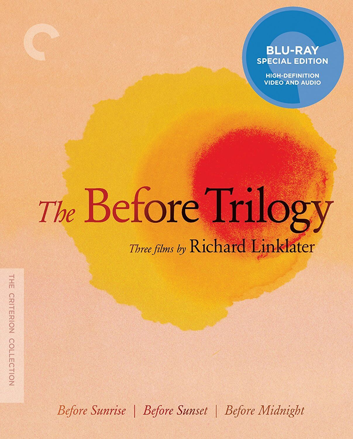 The Before Trilogy - Criterion Bluray Disc
