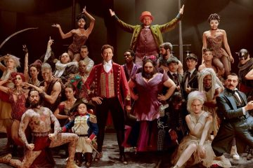 Image of Hugh Jackman starring in the 2017 musical film, The Greatest Showman