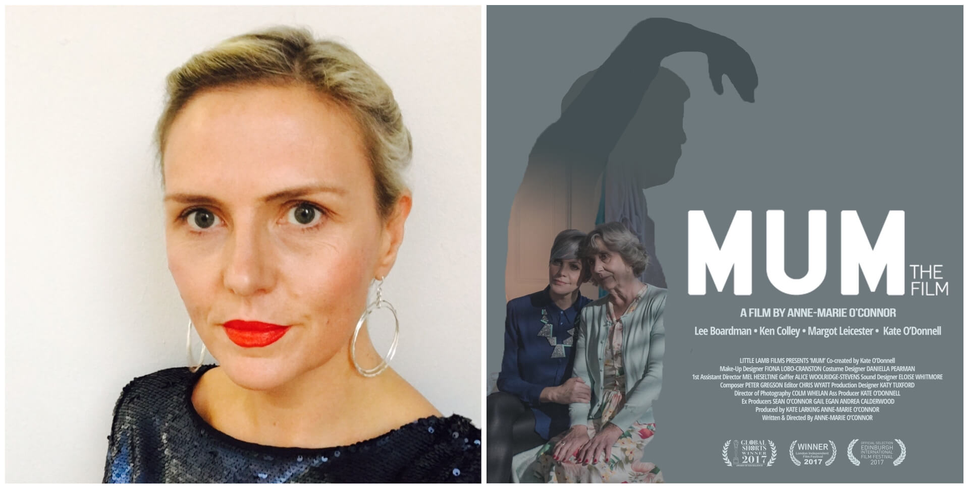 Mum (Short Film) Interview with Anne Marie OConnor