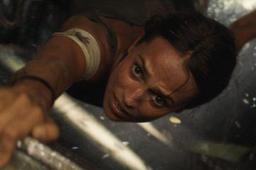 Alicia Vikander stars in Tomb Raider (2018)