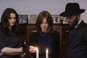 Rachel Weisz and Rachel McAdams, in Disobedience (2018).
