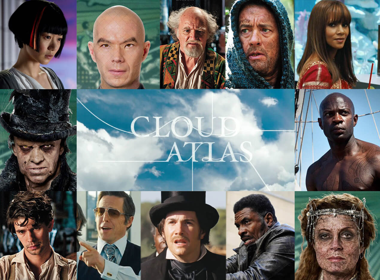 Cloud Atlas characters from movie