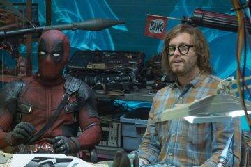 Ryan Reynolds and T.J Miller in the sequel to the first Deadpool.