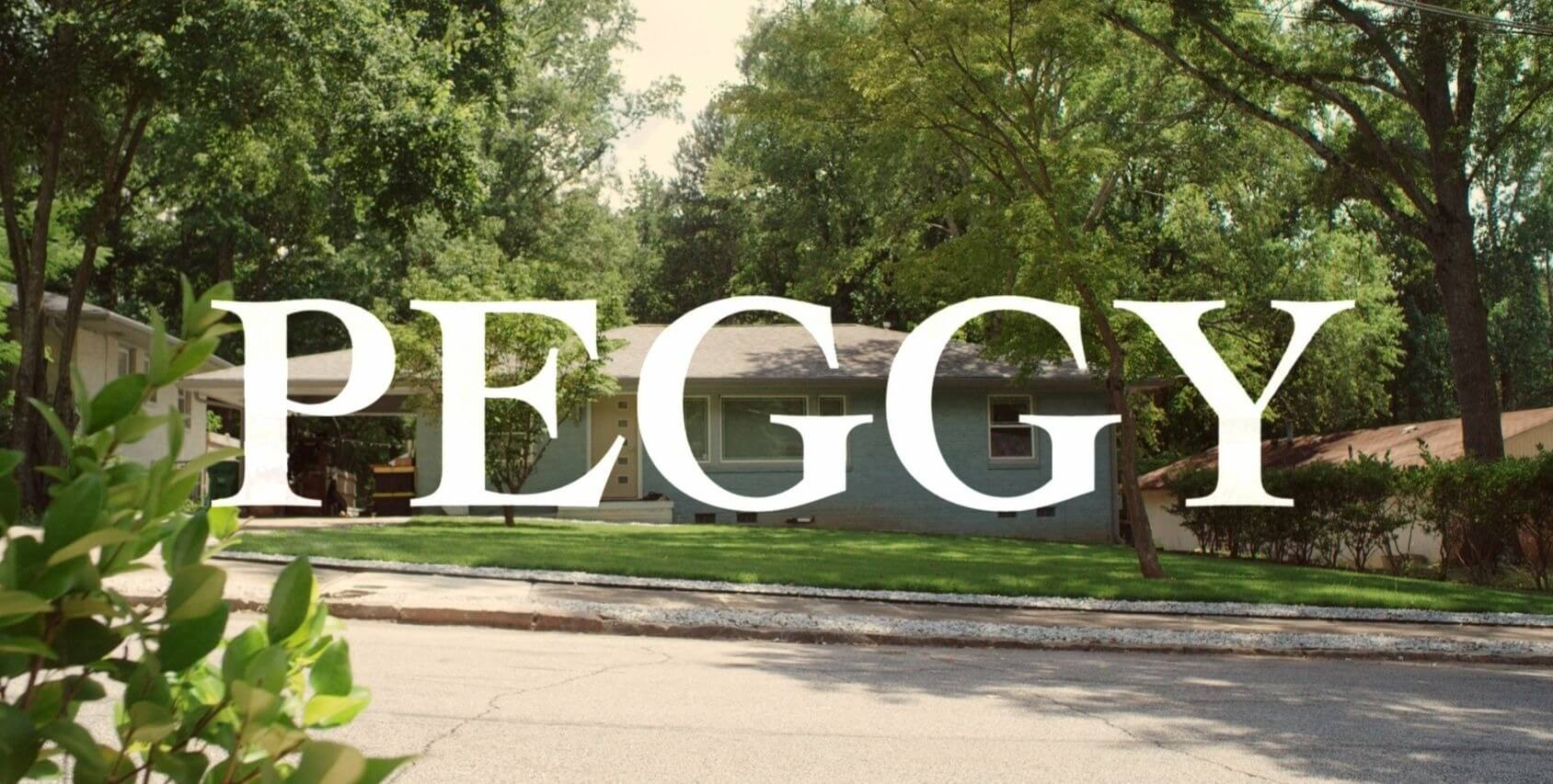 """Image from 2018 short film, 'Peggy"""""""