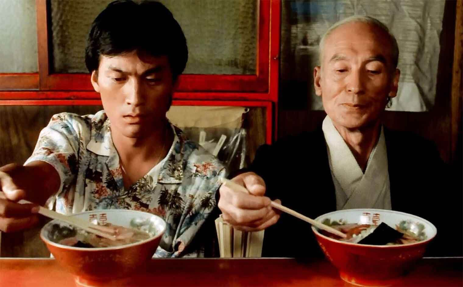 Ramen scene from Tampopo