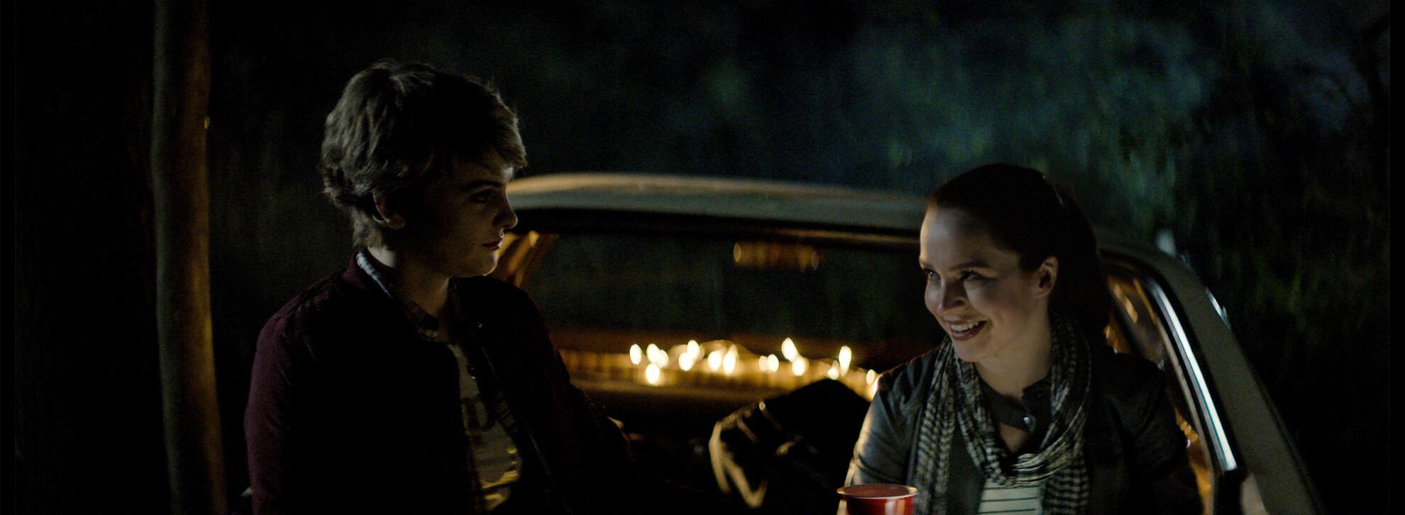 Triggered 2020 Film Still of Liesl Ahlers and Reine Swart