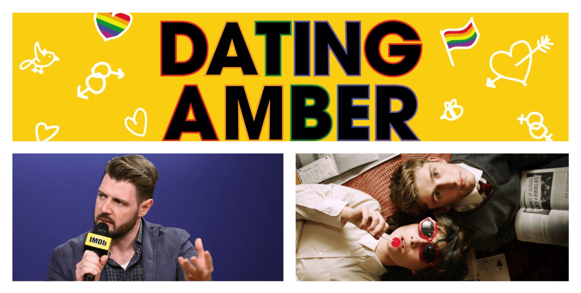 Image of Director David Freyne interview about making Dating Amber