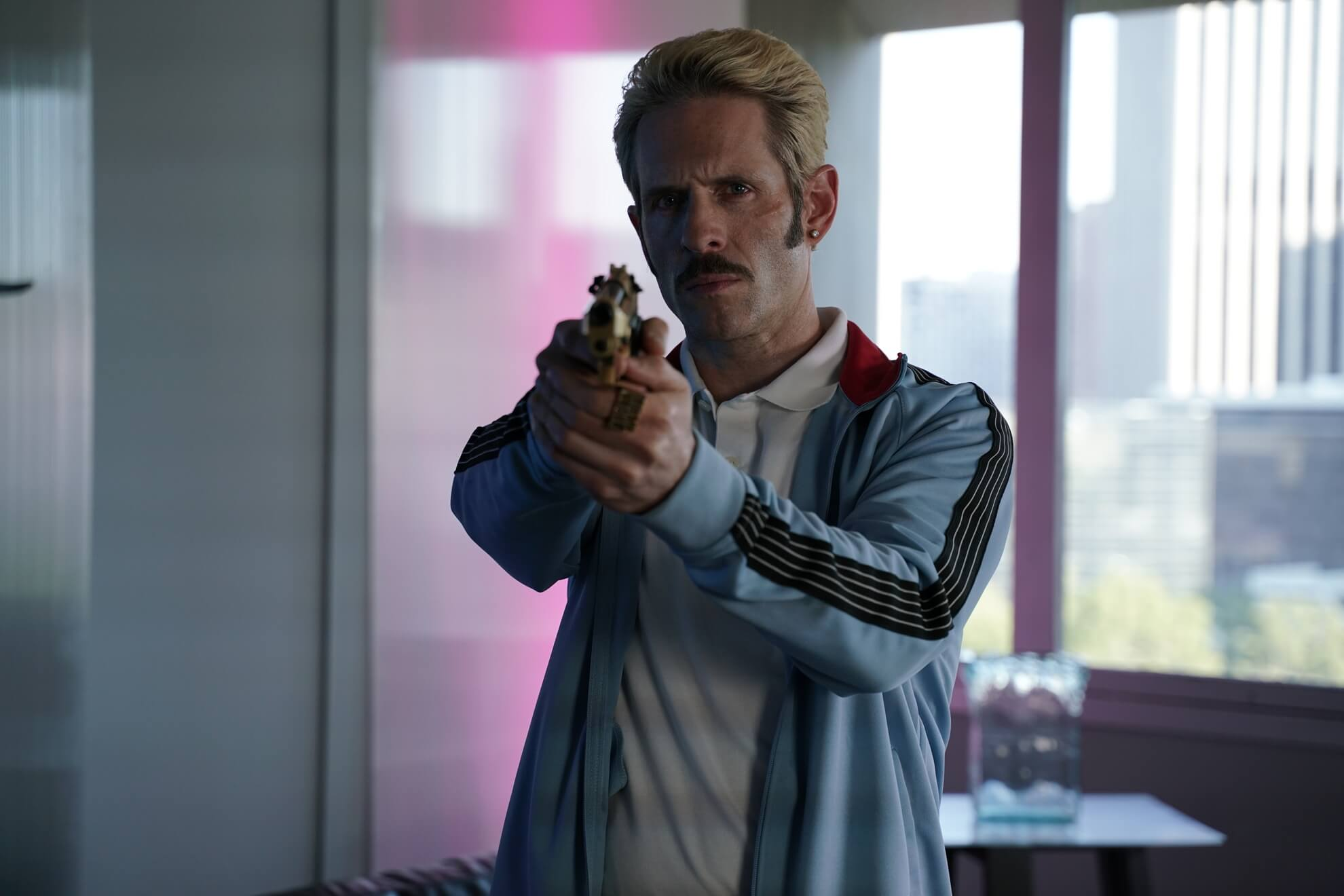 Movie Still of Glenn Howerton in Archenemy (2020)