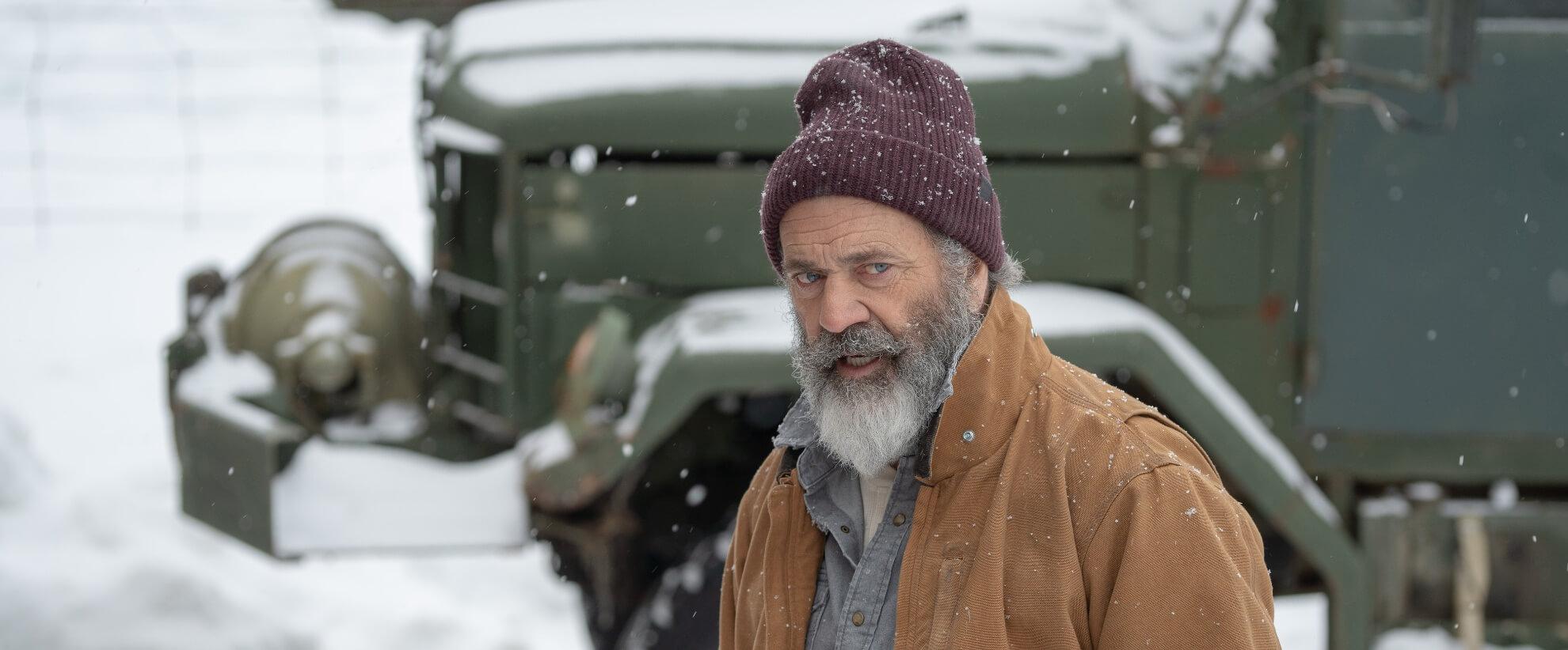 Film Still of Mel Gibson (2020)