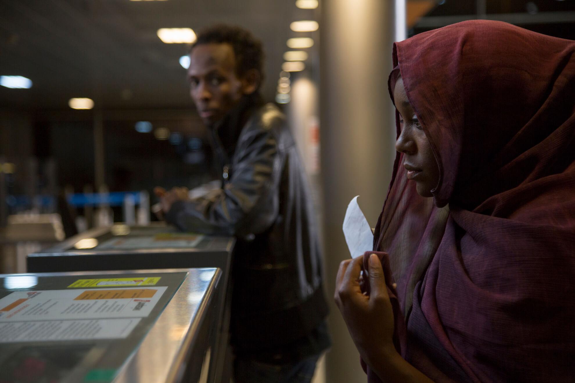 Movie Still from A Girl from Mogadishu