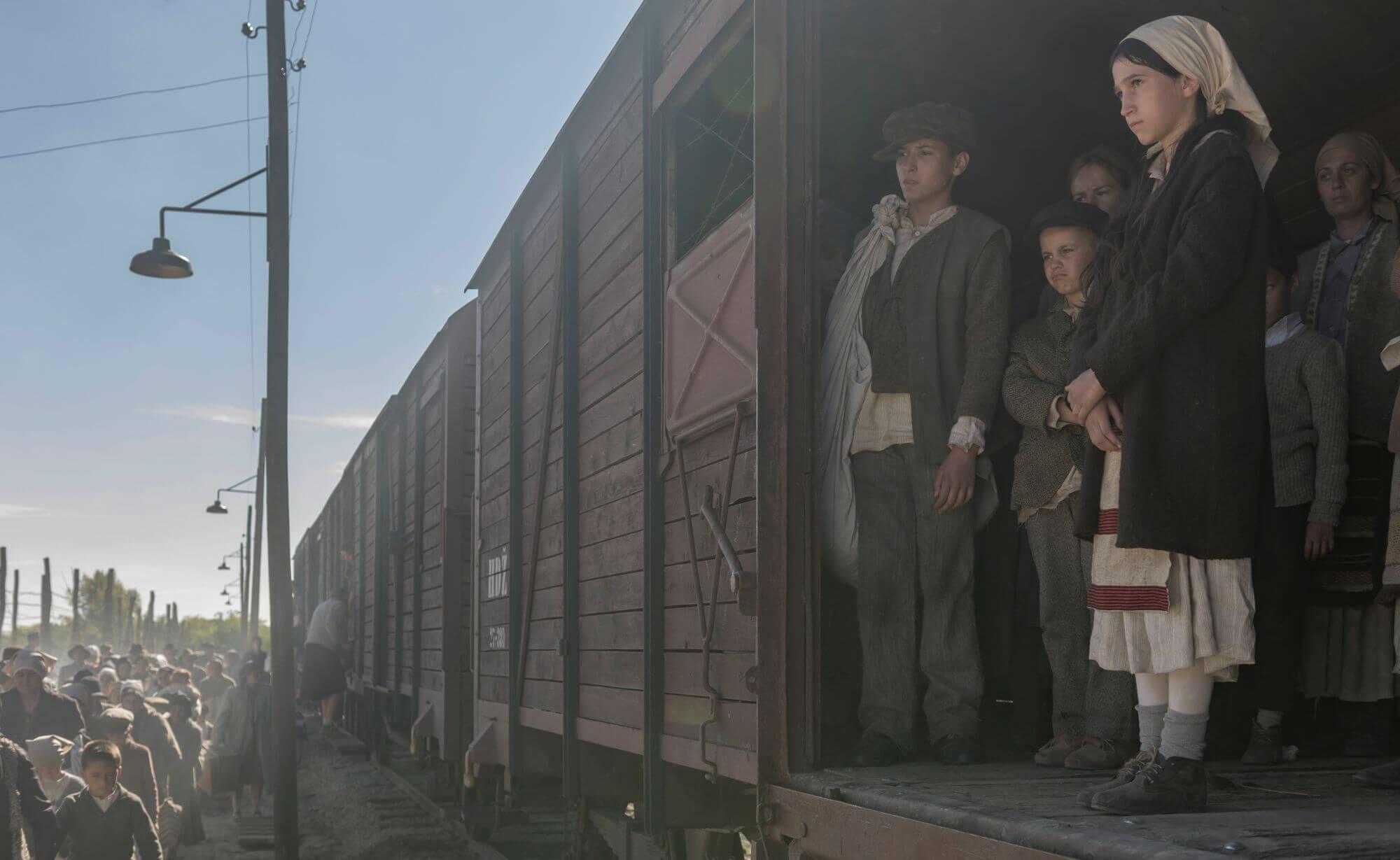 Film Still from war movie, Dara of Jasenovac