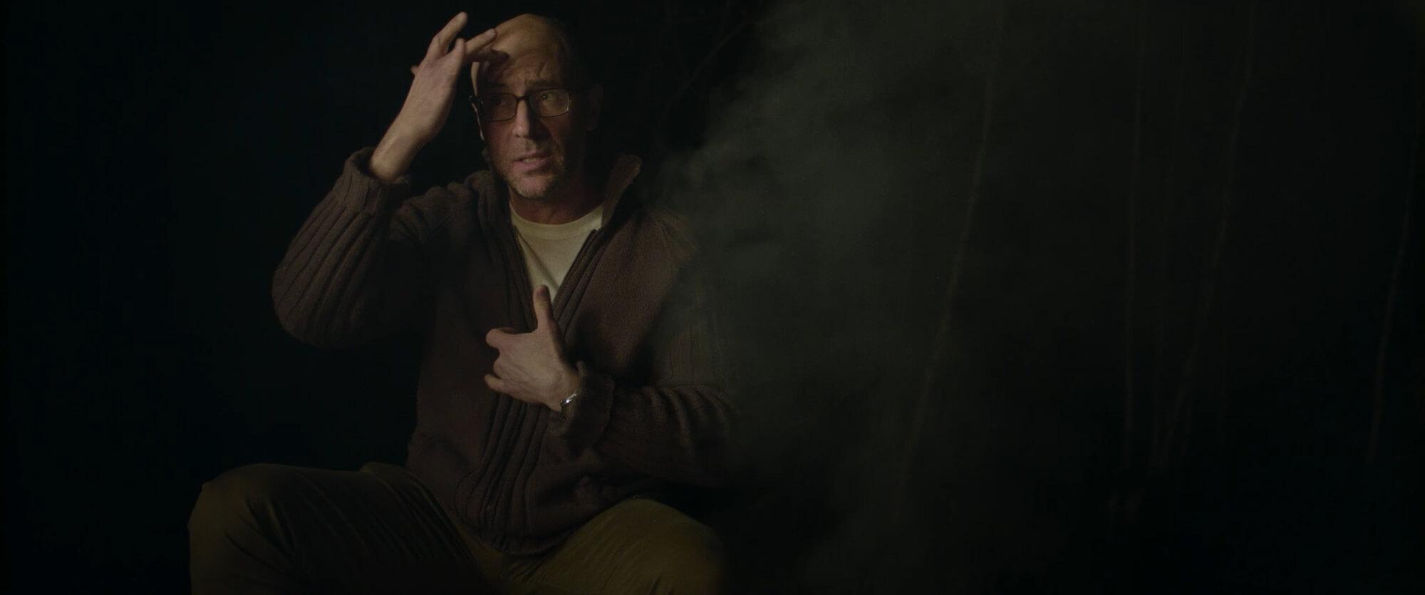 Film still from Silence & Darkness (2020)