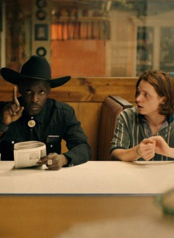 Michael Kenneth Williams and Jack Kilmer in film, Body Brokers (2021)