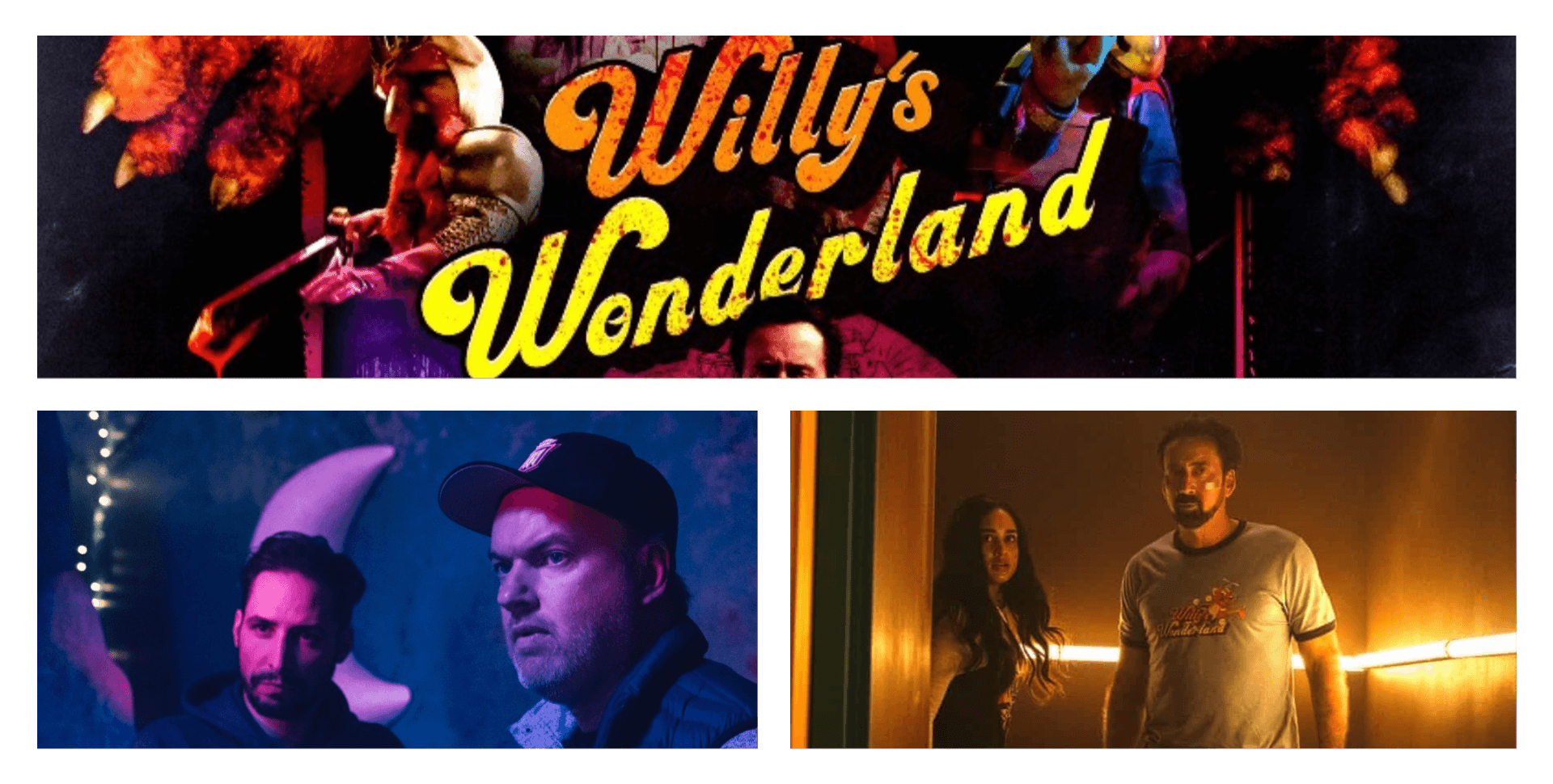 Interview with Kevin Lewis on Willy's Wonderland