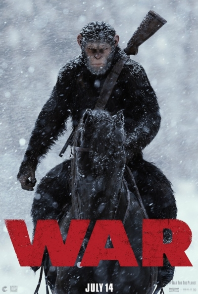 War for the Planet of the Apes 2017 Movie Poster