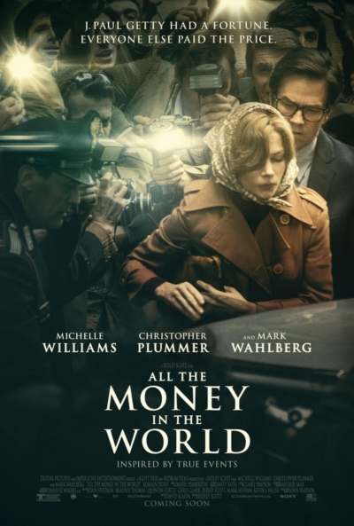 All the Money in the World 2017 Movie Poster