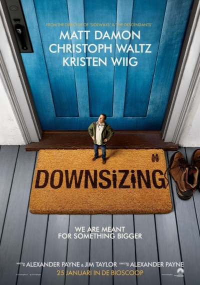 Downsizing 2017 Movie Poster