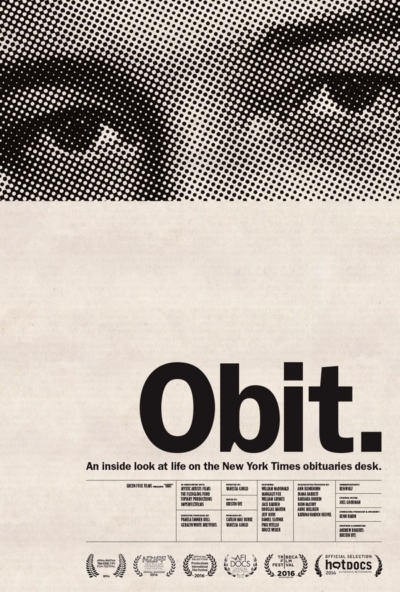 Obit. 2017 Movie Poster