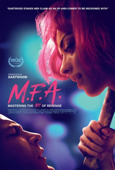 M.F.A 2017 Movie Poster