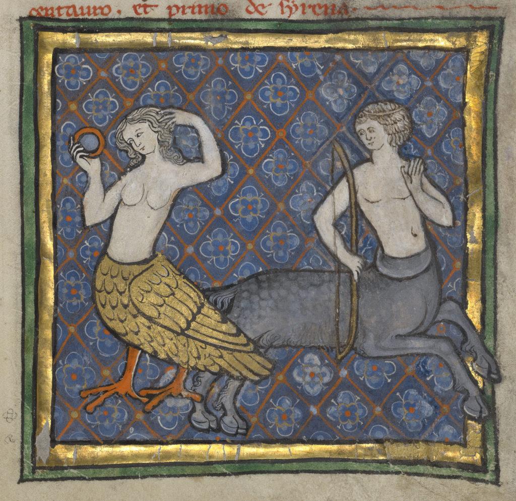 A Siren and a Centaur
