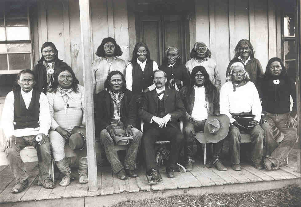 Carl Harberg and Apache Chiefs