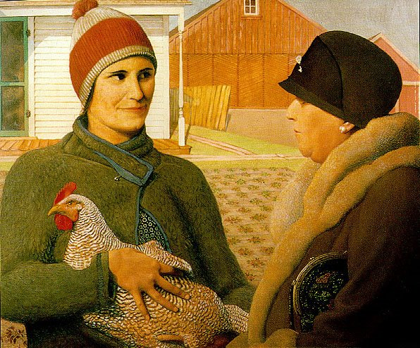 Grant Wood The Appraisal