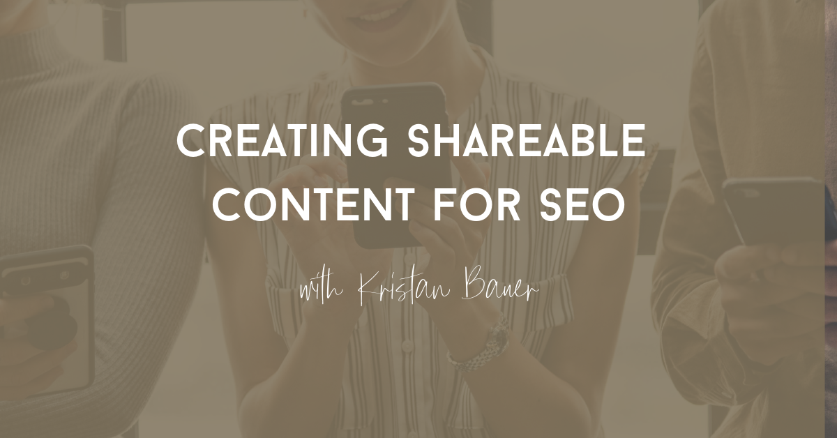 create shareable content for seo