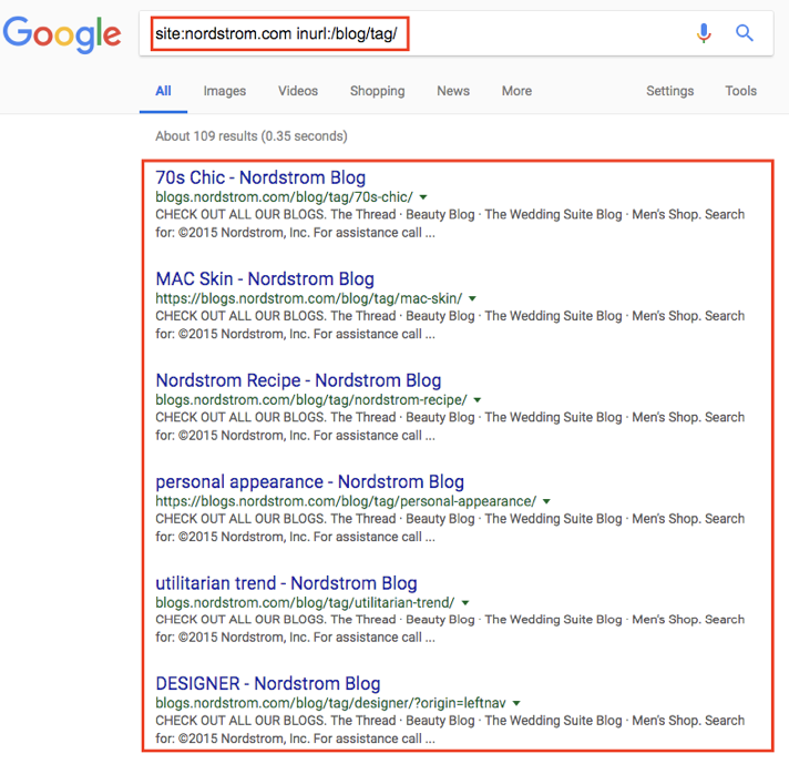 google tags for seo