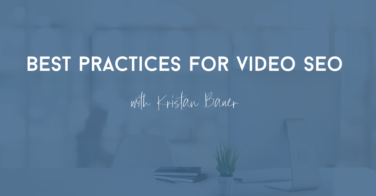 best tips for video seo