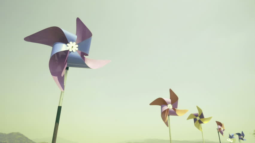 The Breeze and a Pinwheel