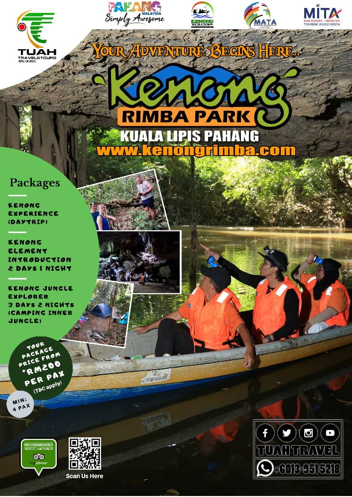 kenong eco camp brochure cover