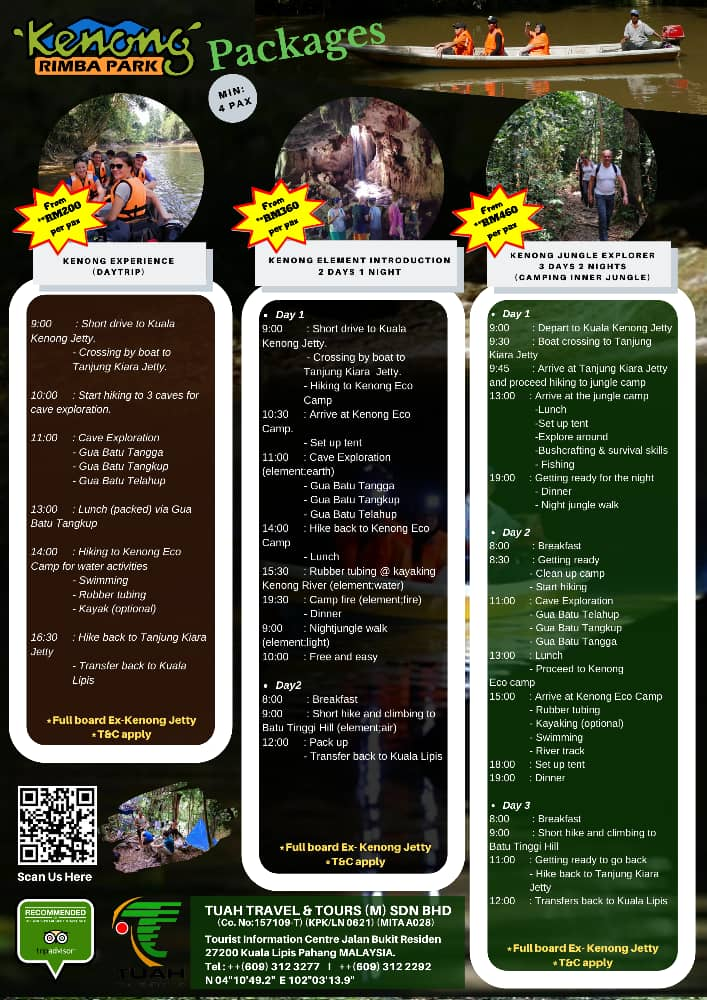 kenong eco camp brochure packages 1