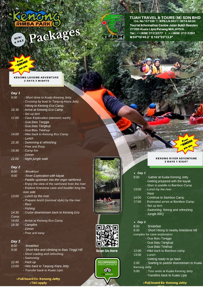 kenong eco camp packages 2