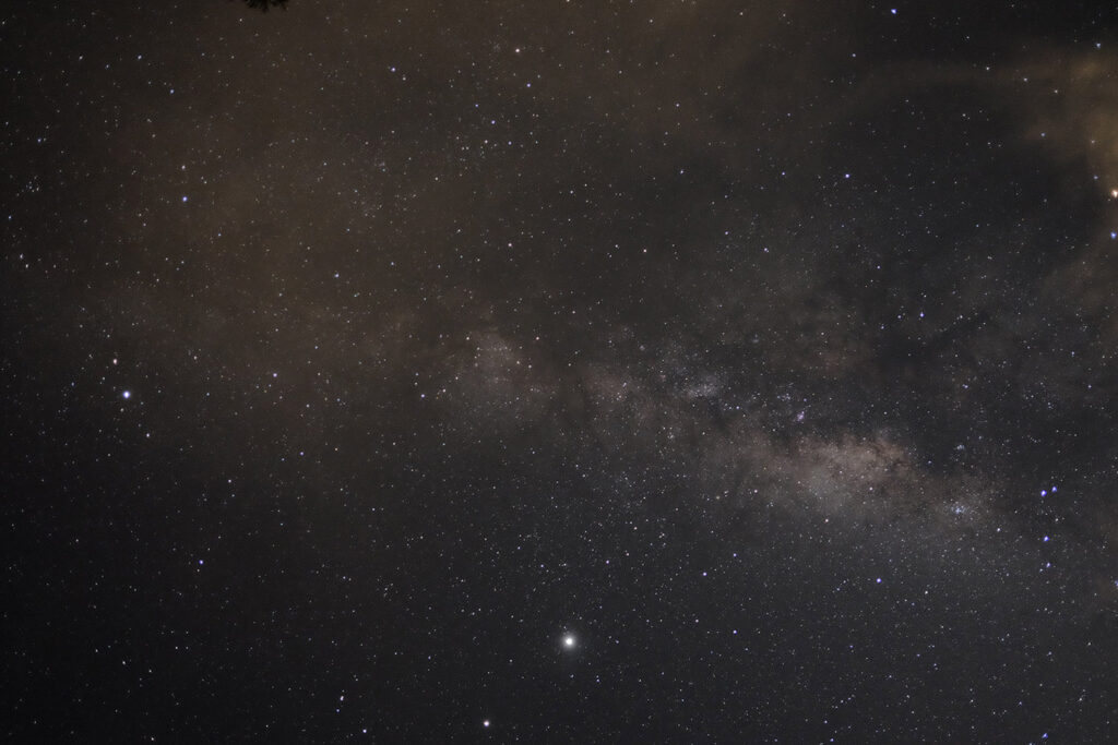 photography of the milky way with stars