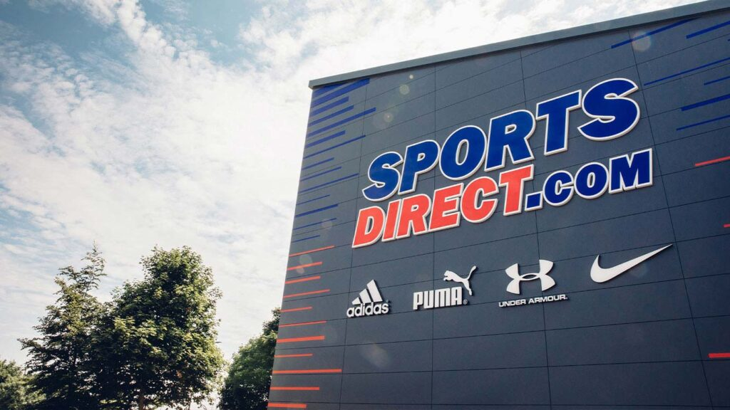 sports direct store view