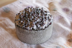 Concrete and Bead Sculptures