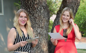 Page Dormier and Bre Sutherland for Art in Southern Oregon with Cammy Davis
