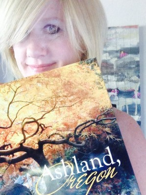 Ashland, Oregon, book with beautiful photographs and hand drawn map