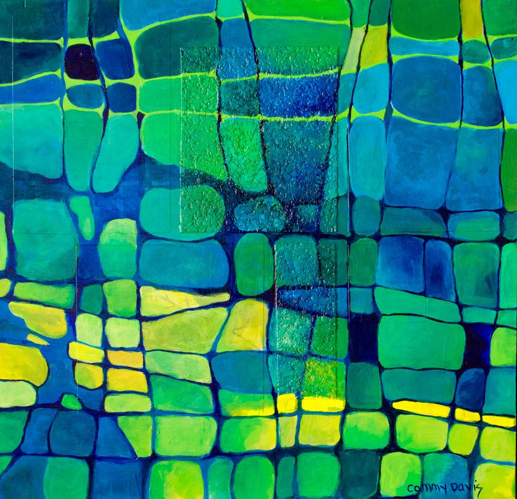 Oregon Artist Cammy Davis' new painting Longing