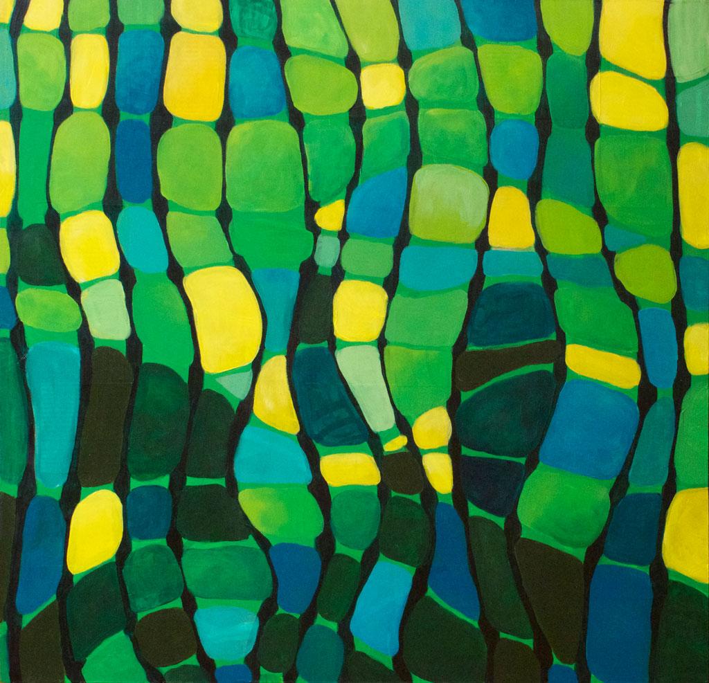 Retro Waves by Cammy Davis, Jacksonville Oregon Artist