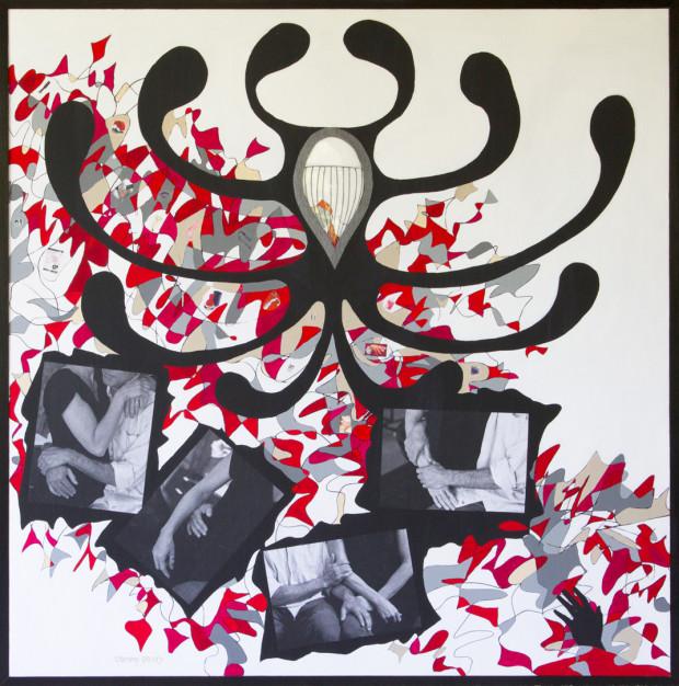 Mixed Media Art Piece by Cammy Davis, Southern Oregon Artist