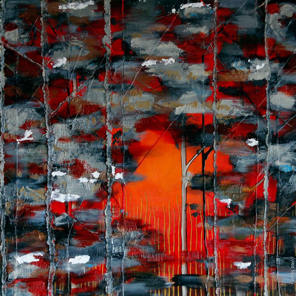 Mixed Media Contemporary Art by Oregon Artist Cammy Davis