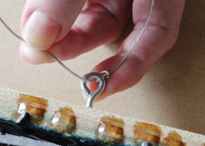 Cammy Davis How-To Attach Picture Hanging Wire
