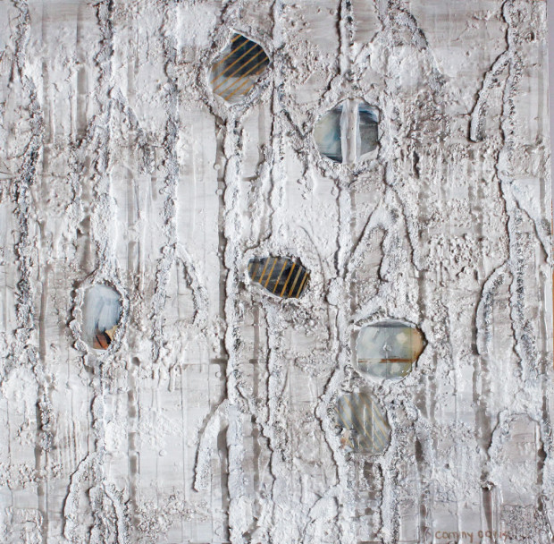 Pods in Mixed Media, Contemporary Art by Oregon Artist