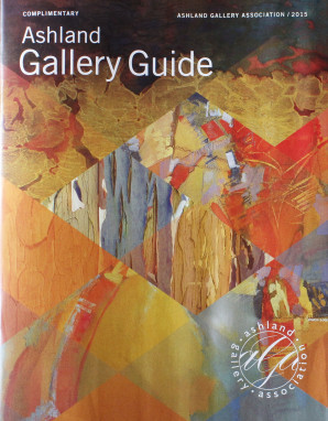 Ashland Gallery Guide, Edgy in October, Cammy Davis, Art Events, Ashland, Oregon