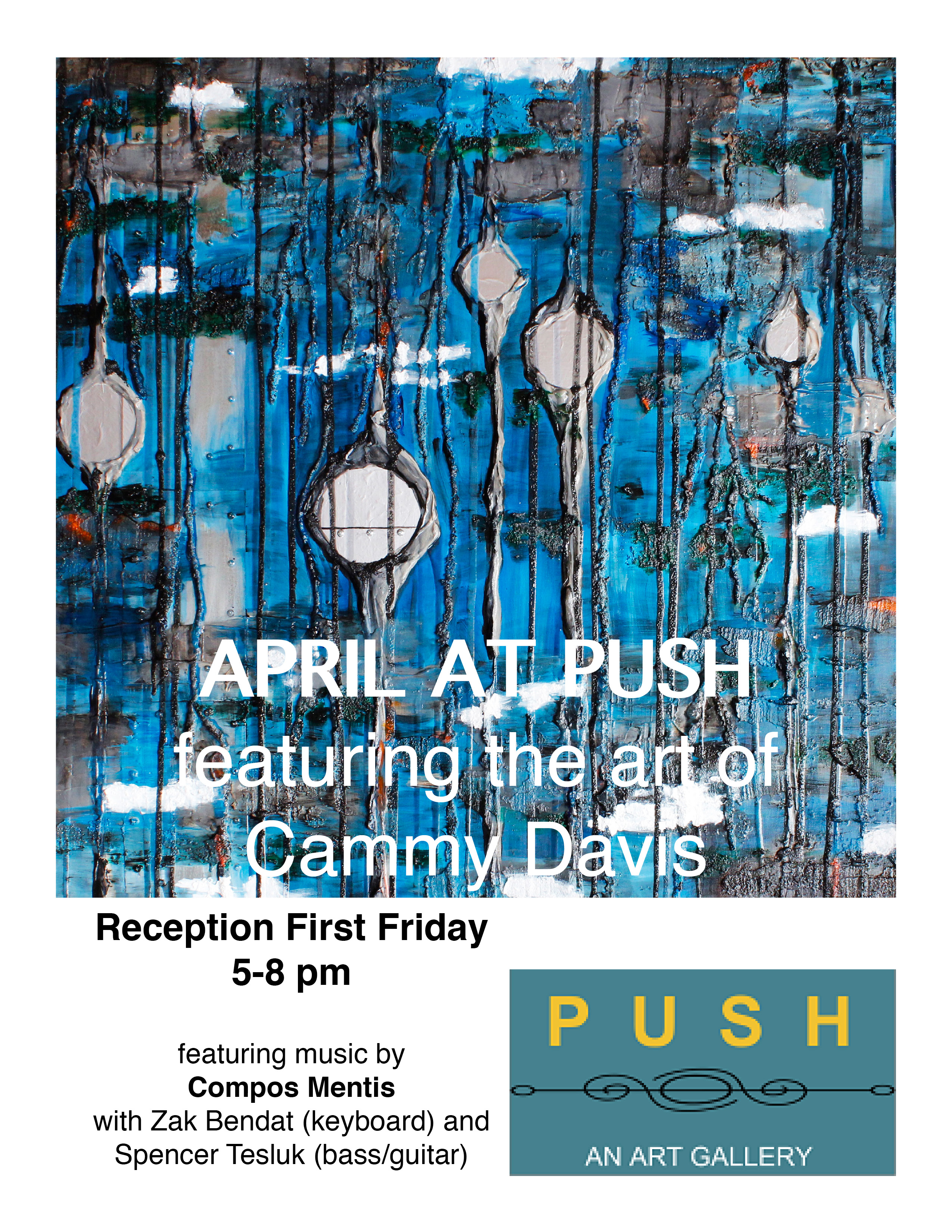 Cammy Davis at PUSH Gallery in Ashland, Oregon