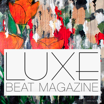 Luxe Beat Magazine with art by Cammy Davis