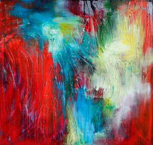 Abstract Expressionism, Contemporary Art, Painting by Oregon Artist, Emerging Artist