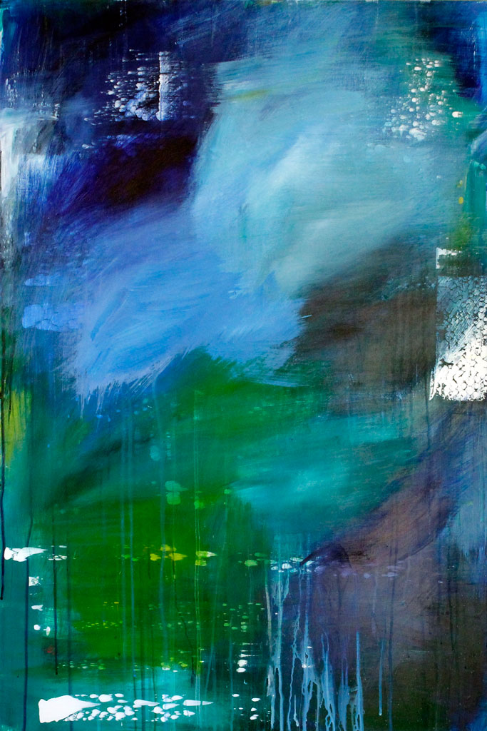 Abstract Expressionism, Oregon Artist, Emerging Artist, Abstract, Nature, Landscape, Acrylic, Art